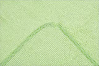 Microfiber Towel Cloth Dish Car Cleaning Cloth Rags Absorbent Towel Quick Drying 12Inx12In 20 Pack New 2019,Light Green,100Pcs