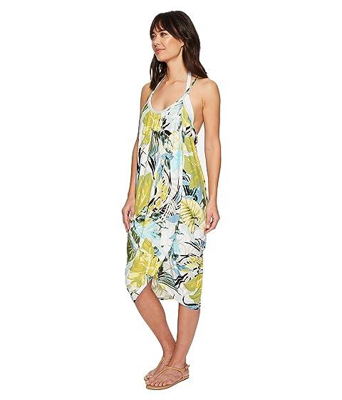 Dragon Green Genevieve Wrap Dress Tropicaley qXw1wp6