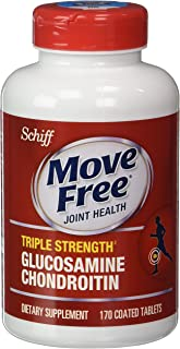 Move Free Advanced Triple Strength, 170 Count(Size: One Bottle of 170 Tablets) by Move Free Advanced