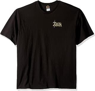Men's Zelda Breath of The Wild Logo Link Bow T-Shirt