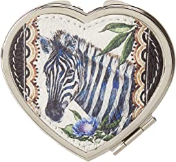 Africa Stories Heart Compact Mirror