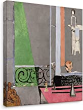 Niwo Art - The Piano Lesson, Henri Matisse Painting Reproduction, Canvas Wall Art Home Decor, Gallery Wrapped, Stretched, Framed Ready to Hang