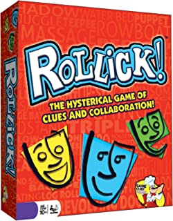 Rollick - Team Charades Game - Hysterical and Fun Family Games - Great for Groups and Game Nights - Fun for All Ages