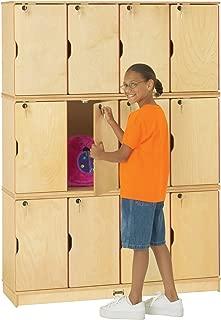 Jonti-Craft 4697JC Stacking Lockable Lockers, Triple Stack