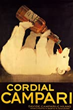 Cordial Campari - Vintage Italian Liqueur Advertisement Poster Reproduction (24