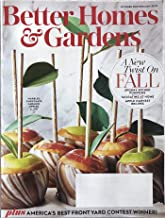 Best october issue of better homes and gardens Reviews