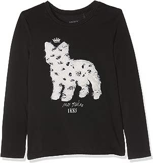 IKKS Junior T Shirt Jaune Moyen Tete De Buffle Coton Bio Camiseta para Beb/é-Ni/ños