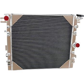 For 3Row Aluminum Radiator 2007-2015 08 14  Jeep Wrangler JK 3.6L 3.8L V6 Engine