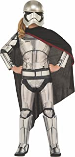 Rubie's Costume Star Wars Episode VII: The Force Awakens Deluxe Captain Phasma Child Costume, Small