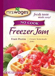 Mrs. Wages No Cook Freezer Jam Pectin Mix, Fruit, 1.59 Ounce (Pack of 12)