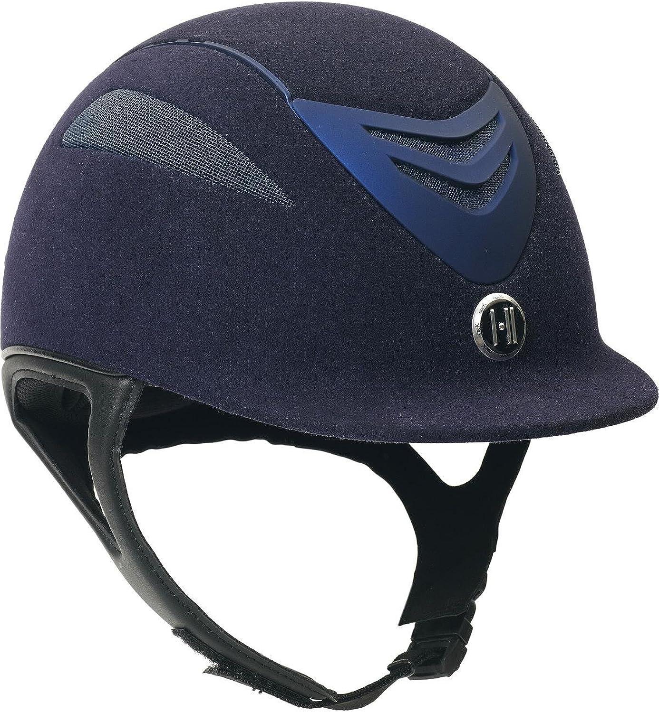 One K Defender Suede Helmet  (Navy Matte, LRG) [Misc.]