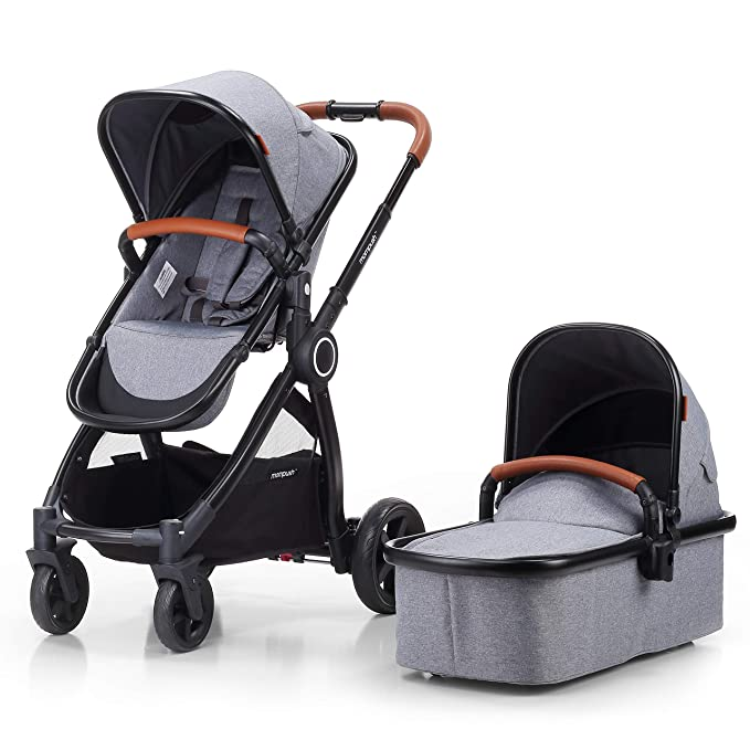 Mompush Full-Size Standard Stroller - Most Comfortable