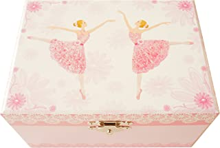Lily & Ally / Flower Ballerina Musical Jewelry Box, with Melody of Waltz of The Flowers / The Nutcracker