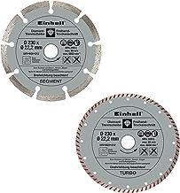 Einhell Dia.-doorslijpset 230 mm, 2 stuks haakse slijper-accessoires