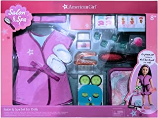 American Girl Salon & Spa -41 Piece Set Includes a doll hairbrush and robe