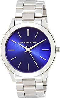 Michael Kors Womens Quartz Watch, Analog Display and Stainless Steel Strap MK3379