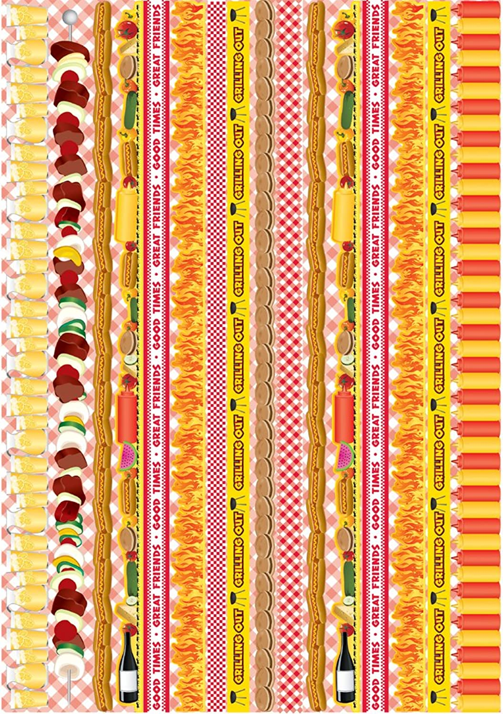 nuevo estilo Reminisce Celebration Series Backyard Bash Folded Border Sticker by Reminisce Reminisce Reminisce  bienvenido a elegir