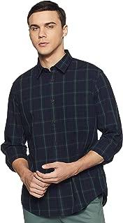 Indian Terrain Men's Checkered Regular fit Casual Shirt