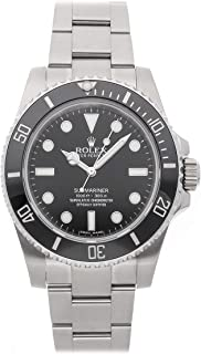 Rolex Submariner Mechanical (Automatic) Black Dial Mens Watch 114060 (Certified Pre-Owned)