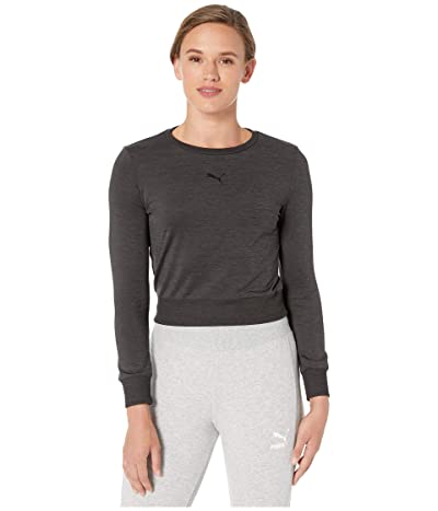 PUMA Soft Sports Long Sleeve Tee (PUMA Black) Women