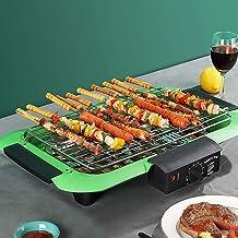 Draagbare elektrische kookmachine voor thuisgebrui Barbecue Rooster met Anti-aanbaklaag grillplaat Pannen for Thermostatis...