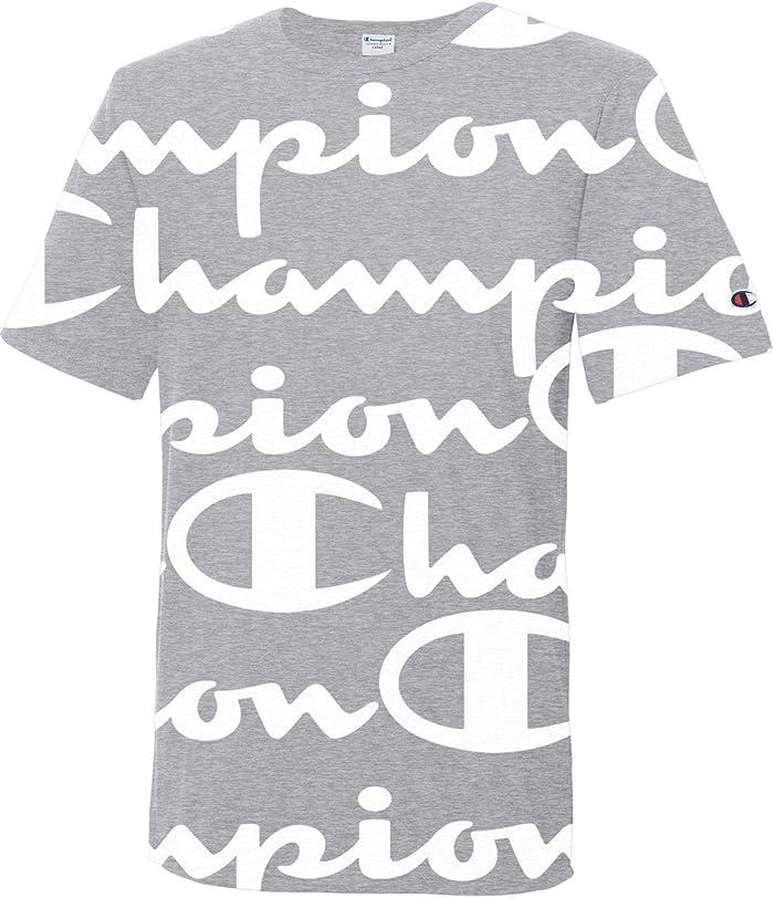 トロピカル夕方解き明かす[チャンピオン] メンズ シャツ Champion Life Men's Heritage Allover Pri [並行輸入品]