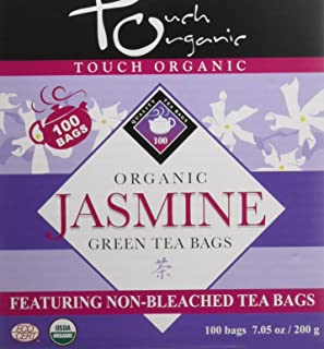 Touch Organic Jasmine Tea, 100 Count (Pack of 12)