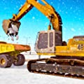 Winter Snow Plow Town Cleaning & Rescue Simulator : Heavy Snow Excavator Free Simulator Game 3d