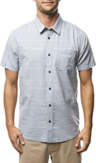 O'NEILL Men's Standard Fit Short Sleeve Button Down Shirt