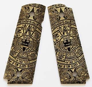 DURAGRIPS - Full Size 1911 Custom Engrave Grips - Aztec Calendar