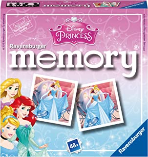 Ravensburger Princess Mini Memory Puzzle - 3 Years & Above