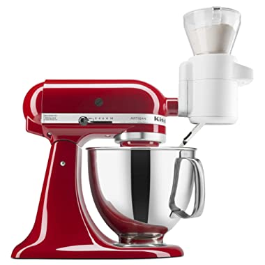 KitchenAid KSMSFTA Sifter + Scale Attachment, 4 Cup (Renewed)