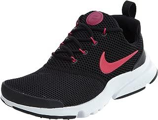 Girls Presto Fly (GS) Running Shoe Black/Rush Pink-White 4Y