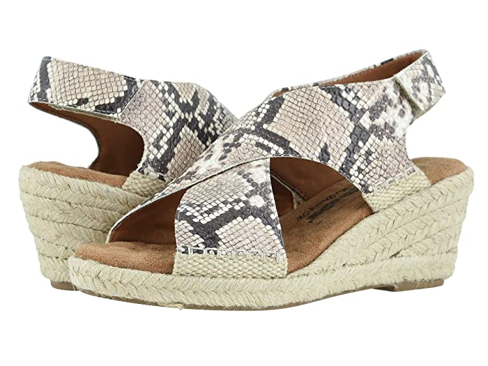 Walking Cradles  Addison (Beige/Brown Snake Print) Womens  Shoes