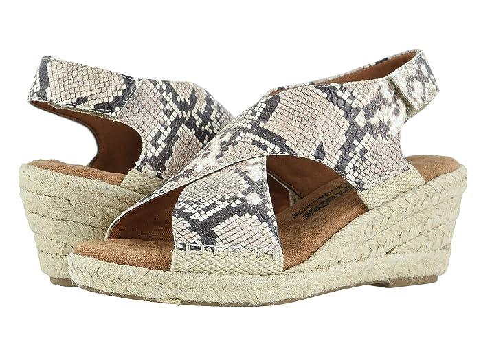 Walking Cradles Addison (Beige/Brown Snake Print) Womens Shoes
