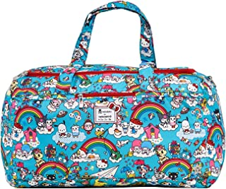 Ju-Ju-Be Tokidoki x Hello Kitty Collection Starlet Diaper Bag, Rainbow Dreams