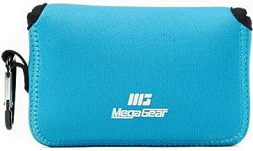 MegaGear Fujifilm X100F, X100T, X100S Ultra Light Neoprene Camera Case, with Carabiner - Blue - MG1096