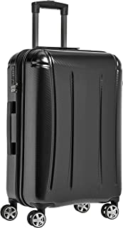 Oxford Expandable Spinner Luggage Suitcase with TSA Lock – 26.8 Inch, Black