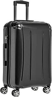 AmazonBasics Oxford Luggage Expandable Suitcase Spinner with TSA Lock and Wheels