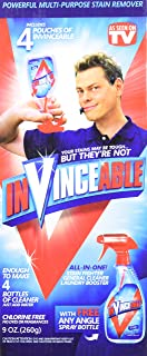 Invinceable All-In-One Stain Fighter, General Cleaner, Laundry Booster, 9 Ounce