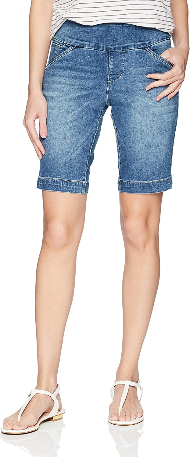 Jag Jeans Womens Ainsley Pull on 8  Short