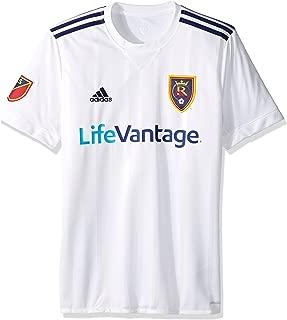 MLS Real Salt Lake Adult Men Replica Wordmark s/jersey,Large,White