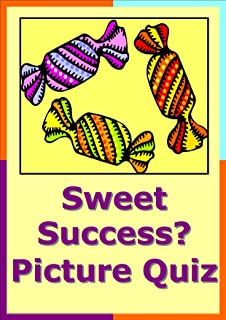 Sweet Success Sweets and Chocolate Picture Quiz Christmas or New Years Eve Party Entertainment