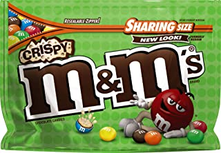 M&M'S Crispy Chocolate Candy Sharing Size 8-Ounce Bag