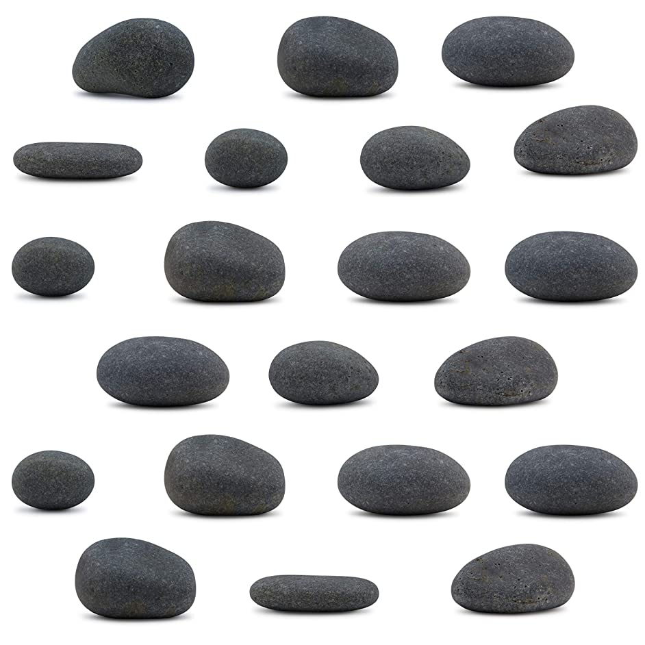 Craft Rocks, 21 Extremely Smooth Stones for Rock Painting, Kindness Stones, Arts and Crafts, Decoration. 2