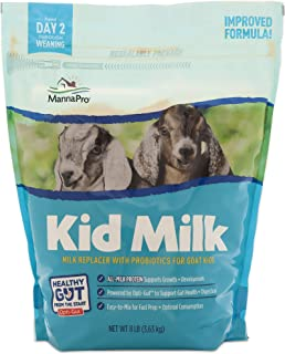 Manna Pro Milk Replacer for Goat Kids|Formulated with Probiotics & Powered by Opti-Gut