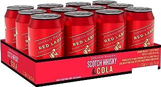 Johnnie Walker Red Label Whisky & Cola Mix-Getränk, EINWEG 12 x 330ml