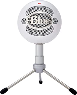 (White) - Blue Snowball iCE Versatile USB Microphone with HD Audio - Colour White The Worlds Favourite USB