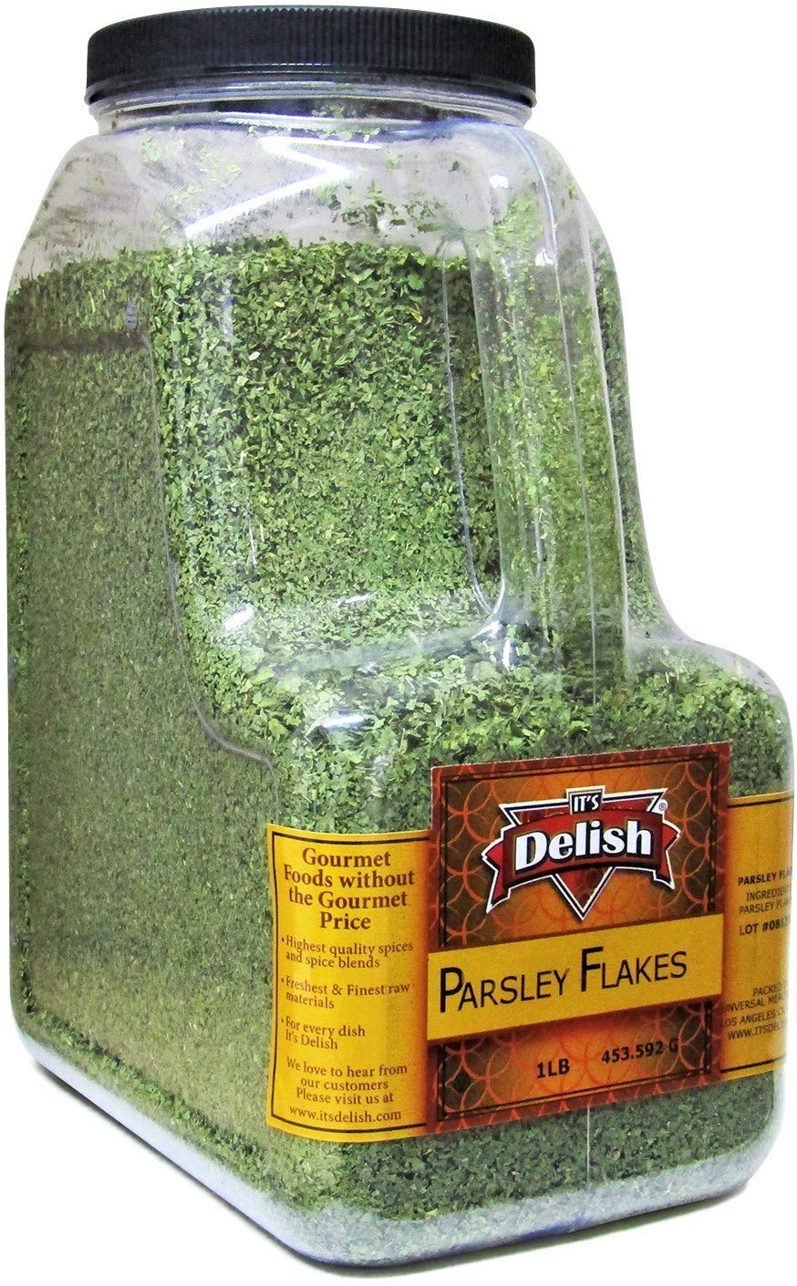 Dried Parsley Flakes Store by Its Delish Cheap – à Jug Size Gallon 1 LB