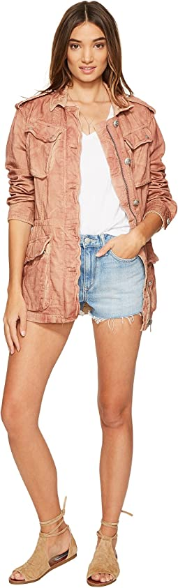 Free People - Double Cloth Military Jacket